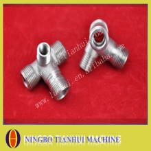 stainless steel union cross with precision casting