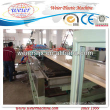 wide wpc door plate extrusion line