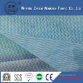 Blue Spunlace Nonwoven Fabric About Kitchen Cleaning