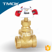 knife brass gate valve prolong BSP thread stem signal gate valve for fire protection
