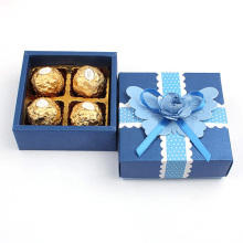 Box Packaging Chocolate Cardboard Square