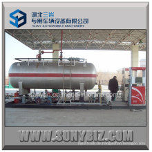 ASME Standard 10000 Liters Mobile LPG Skid Station
