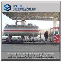 ASME Standard 10000 Liters Мобильная передвижная площадка для сжиженного нефтяного газа