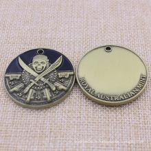 Médaille de pièces de monnaie de souvenir de promotion de cadeaux à la vente avec logo personnalisé