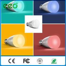 China Factory Price Matériel PC 6W 220V SMD 2835 E27 ampoule LED, éclairage intelligent à distance