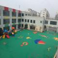 plastic outdoor kindergarten playground floor mat