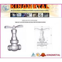 Válvula de compuerta del sello de presión Clase 600 ~ 2500