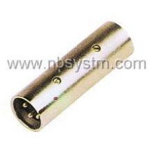 3P miarophone plug to 3P microphone plug adaptor