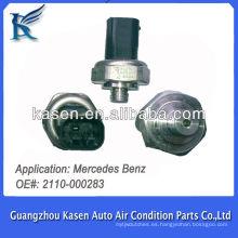 Auto ac Aire acondicionado Transductor de sensor de presión del sensor para Mercedes Benz 2110000283
