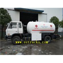 10cbm 5MT LPG Gas Cylinder Filling Trucks