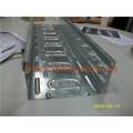 Bac à câbles en acier galvanisé à froid (UL, cUL, SGS, CEI, TUV et CE) Machine à fabriquer des rouleaux Qatar