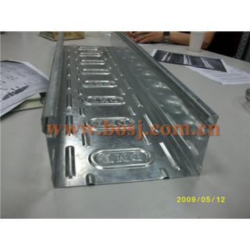Bandeja de cabo de aço laminada a frio galvanizada (UL, cUL, SGS, IEC, TUV e CE)