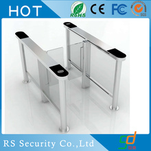 Intelligent Fitness Center Glass Turnstile System