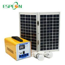 Espeon завод Оптовая 30Вт 18В гибридная система солнечной энергии для дома