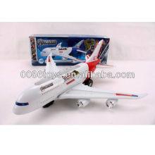 2013 top selling flashing musical B/O toy plane