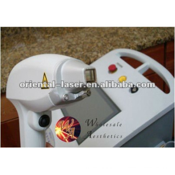 Réparation de pièce à main d'épilation de diode laser