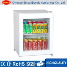 Mini refrigerador porta portátil de vidro 48L com CE / ETL / RoHS