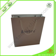 Made Of Ivory Paper With Customized Logo Free Sample Paper Bag