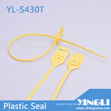 Pull Tight Plastic Security Seals with Metal Locking