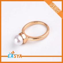 Parel sieraden gouden ring modevormgeving voor vrouwen groothandel accepteren ontwerp op maat