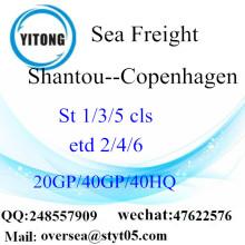 Sán đầu cảng biển vận chuyển hàng hóa vận chuyển đến Copenhagen