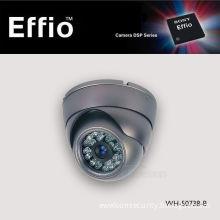 HD 700tvl Sony CCD Effio-E 24LED IR Night Vision CCTV Security Indoor Dome Camera (WH-50738-B)