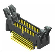 2.54mm conector de doble capa del jefe del eyector 90 °