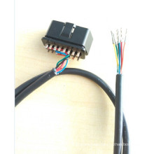 car inspection OBD to molex cable assembly