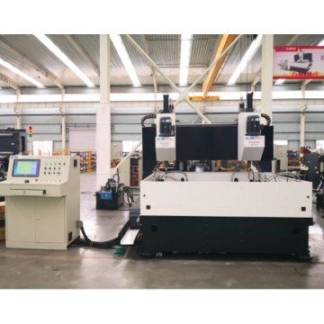 Wiertarka do blachy stalowej CNC Grantry Double Head