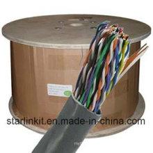 UTP Cat5e Kupfer 50 Paar Telefonkabel für Telekommunikation