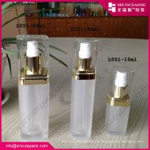Chine produits chauds vides 15 ml 30 ml 60 ml 120 ml de récipients acryliques transparents