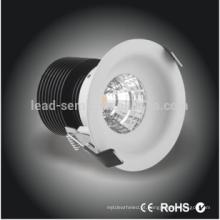 Venda directa da fábrica A alta luminosidade conduziu o downlight conduzido para a iluminação do acento