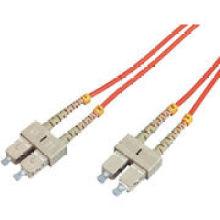 Alta calidad Sc a Sc Puente de fibra óptica multi-modo