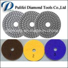 Tampon de polissage diamant humide à usage sec pour béton granit marbre