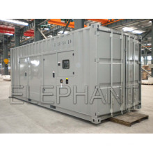 Prime Power 900kVA / 720kw bei 50Hz angetrieben von Original CUMMINS Dieselmotor Sound Proof 20 Fuß Container Diesel Generator