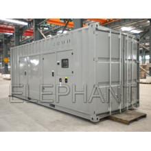 Основная Мощность генератор 900kva/720kw на 50Гц работает на оригинальный CUMMINS дизельный двигатель звук доказательство дизель-генератор 20-футовый