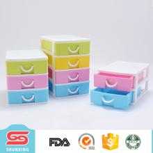 pequeño cajón de almacenamiento tablero caliente del estilo de la manera vendedora de China