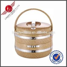 Fiambrera de alta calidad para la preservación del calor de 2 capas