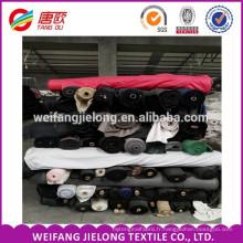 En Stock Tissu Popeline Doublure Poche Tissu whloesale 100gsm polyester coton popeline stock lot tissu