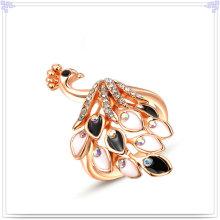 Fashion Accessories Crystal Jewelry Alloy Ring (AL0001RG)