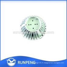 L'aluminium moulage mécanique sous pression LED Light Heronsbill pièces de radiateur
