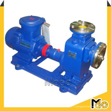 Pompe à auto-amorçage horizontale adaptée à la presse à filtre