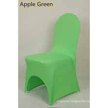 chair covers for cheap,lycra chair cover fit all banquet chairs,high quality,apple green