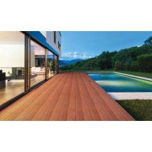 WPC cubierta de co-extrusión / WPC cubierta de piso / decking WPC al aire libre