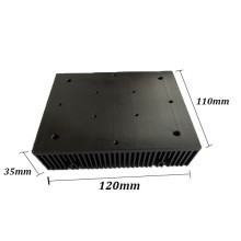 The aluminium heatsink for fan