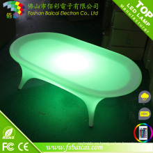Mesa de centro LED para mesa Bar / LED