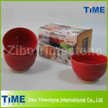 Набор из 4 керамических ручная роспись чаша