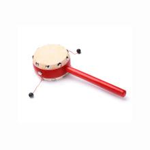 juguete al por mayor para bebé tambor de sonajero chino