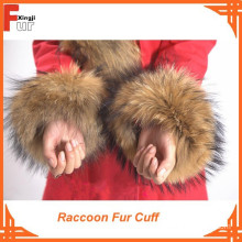 Top Quality 100% Real Fur Raccoon Fur Cuff