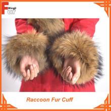 Top Quality 100% Real Fur Raccoon Fur Cuff